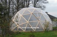 Dome byggesæt (træ+folie)