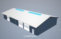 Værkstedshal (600 m²)