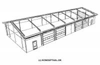 Autoværksted (390 m²)